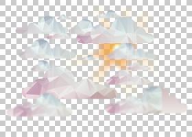 抽象云彩天空背景PNG clipart紫色,白色,云,生日快乐矢量图像,抽
