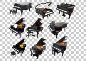数码钢琴乐器,钢琴PNG剪贴画家具,钢琴,钢琴卡通,高贵,键盘钢琴,