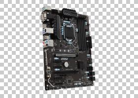Kaby Lake主板LGA 1151 ATX DDR4 SDRAM,卡通主板PNG剪贴画杂项,