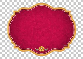 Logo Belle迪士尼公主艺术,公主茉莉花,红色和橙色框架图PNG剪贴