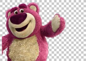Lots-o-Huggin熊巴斯光年雷克斯玩具总动员,玩具故事PNG剪贴画纺