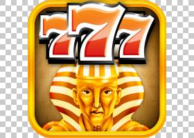 Pharaons Gold古埃及法老标志,中奖PNG剪贴画杂项,橙色,其他,标志