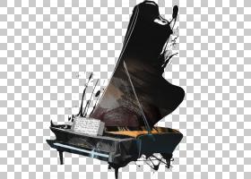 U017bagau0144钢琴音乐演奏会YouTube,涂鸦钢琴PNG剪贴画家具,钢