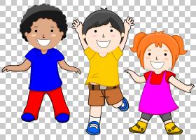 儿童免费内容,男孩跳舞的PNG剪贴画孩子,手,电脑,友谊,幼儿,男孩,