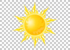 卡通艺术博物馆卡通网络绘图幽默,透明太阳,黄色太阳PNG剪贴画橙