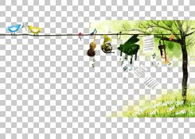 卡通水彩画,钢琴绿草PNG剪贴画漫画,家具,文本,海报,电脑壁纸,草,