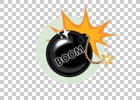 图标,矿山爆炸PNG剪贴画橙色,徽标,爆炸,卡通,爆炸性,材料,黑色,