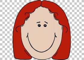 女孩笑脸,脸部特写PNG剪贴画孩子,脸,人,笑脸,头,悲伤,卡通,女人,