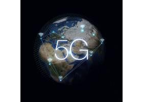 简洁大气5G信息科技时代主题海报设计