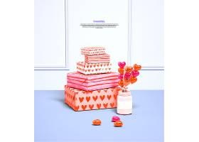 清新甜蜜糖果礼物主题创意背景设计