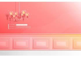 创意清新简洁室内墙壁插画设计