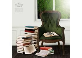 椅子与书本