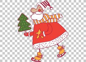 圣诞老人圣诞节装饰圣诞节装饰品节日PNG剪贴画食品,假日,圣诞节