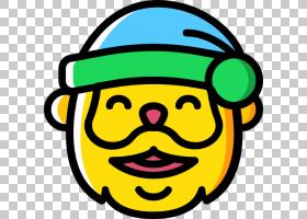 电脑图标图释笑脸圣诞老人顶部PNG剪贴画杂项,其他,笑脸,封装的Po图片