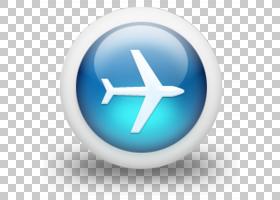 计算机图标,平面PNG剪贴画杂项,蓝色,其他,运输,桌面壁纸,飞机,信图片