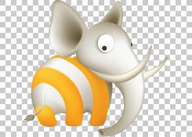 RSS网络订阅博客计算机图标,可爱的大象PNG剪贴画哺乳动物,carniv图片
