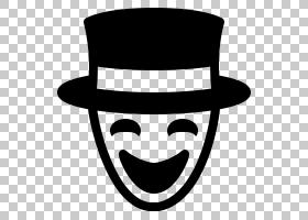 Slenderman计算机图标,细长的男人PNG剪贴画杂项,帽子,其他,笑脸,图片