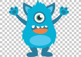 怪物Kidibot阅读和数学游戏绘图Web开发,别墅PNG剪贴画儿童,卡通,