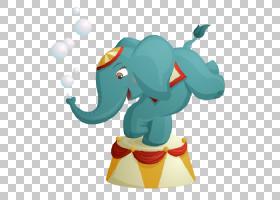 大象卡通马戏团,水彩大象PNG剪贴画动物,电脑,脊椎动物,电脑壁纸,
