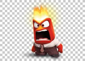 愤怒,以健康的方式处理强大的情感莱利,玩具故事PNG剪贴画杂项,橙