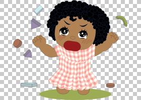 发脾气女孩哭,发脾气的PNG剪贴画孩子,幼儿,卡通,免版税,女人,人