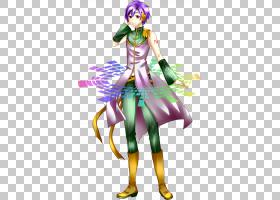 服装服装设计Mangaka,asuna PNG剪贴画紫色,传奇生物,卡通,虚构人