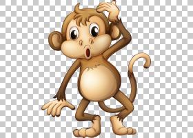 动画,丛林书,棕色猴子PNG剪贴画哺乳动物,猫像哺乳动物,食肉动物,
