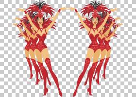 Showgirl Moulin Rouge Dance,显示PNG剪贴画杂项,虚构人物,卡通,