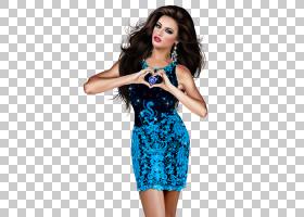 动画心脏,女性PNG剪贴画心,笑脸,卡通,女人,时尚模型,电动蓝色,ph