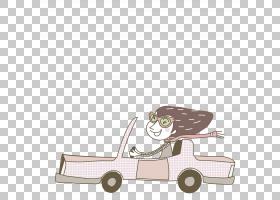 动画片图画妇女例证,驾驶动画片女性PNG clipart卡通人物,紫色,漫
