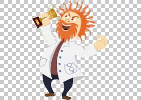 疯狂的科学家卡通,奖杯PNG剪贴画食品,手,人民,恶棍,卡通,虚构人