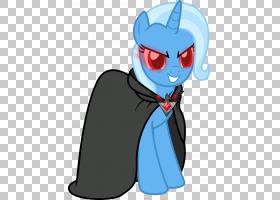 Trixie小马暮光闪耀YouTube彩虹短跑,护身符PNG剪贴画马,哺乳动物