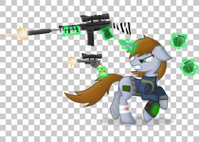 Pony Fallout,Equestria Fallout 4武器枪,枪声PNG剪贴画杂项,equ