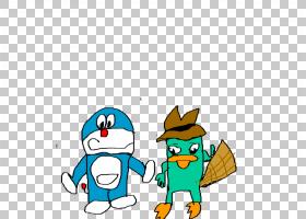 Perry the Platypus,doraemon PNG剪贴画脊椎动物,虚构人物,卡通,