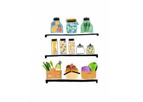清新手绘蔬菜瓜果主题插画设计