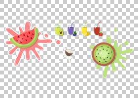 西瓜夏天夏天果汁免费头发材料PNG剪贴画免费的徽标设计模板,食品