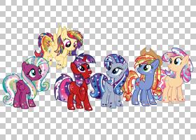 我的小马鬃马恩,鬃毛PNG剪贴画马,哺乳动物,动物,脊椎动物,卡通,