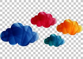 云几何,不规则图形云PNG剪贴画服务,云计算,花卉,粉红色的云,形状