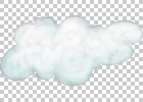 云创造力白色,创意白云PNG剪贴画白色,云,黑色白色,白色云,卡通,