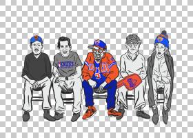 纽约尼克斯名人粉丝演员,卡通篮球场PNG剪贴画T恤,技术,团队,人类
