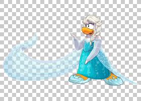 企鹅俱乐部Elsa Olaf Anna,冷冻PNG剪贴画俱乐部企鹅,脊椎动物,卡