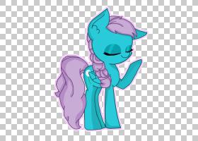 马小马蓝绿色绿松石电蓝色紫色蒲公英PNG剪贴画马,紫色,哺乳动物,
