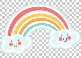 绘制彩虹,可爱的字母PNG剪贴画云,虚构人物,卡通,桌面壁纸,可爱,
