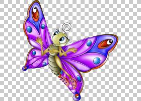绘图,错误PNG剪贴画杂项,紫色,刷脚蝴蝶,紫罗兰,其他,昆虫,卡通,