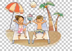 绘图卡通,暑假PNG剪贴画杂项,儿童,摄影,其他,桌面壁纸,免版税,游