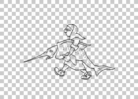 绘图尼姑,剑鱼PNG剪贴画杂,角,白,哺乳动物,手,其他人,单色,脊椎
