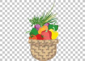 绘图蔬菜,蔬菜PNG剪贴画食物,文字,草,卡通,花,果,树,vecteur,篮,