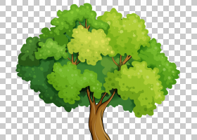 卡通前景树PNG剪贴画叶蔬菜,儿童,叶,免版税,森林,股票摄影,植物,