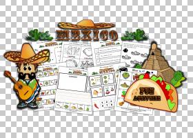 卡通小说,墨西哥PNG剪贴画杂项,食品,其他,卡通,动物,小说,墨西哥