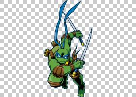 莱昂纳多米开朗基罗忍者神龟绘图,忍者PNG剪贴画卡通,虚构人物,忍